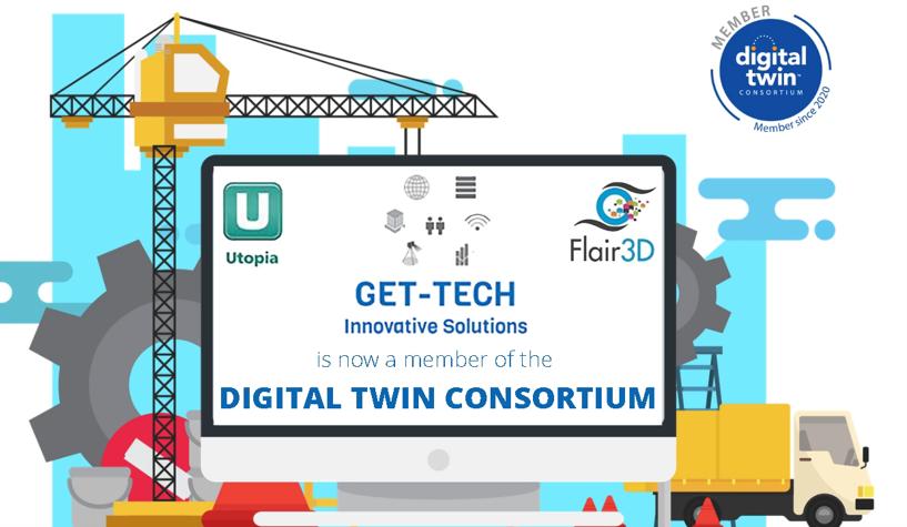 GET-TECH Innovative Solutions Inc.<br>becomes a member of <u>Digital Twins Consortium™.</u>